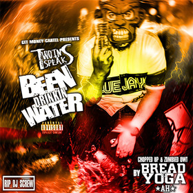 Been Drinkin' Water (Zombie Edition) TWOINSpeaks front cover