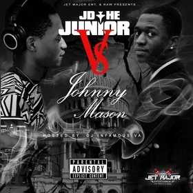 JD The Junior vs Johnny Mason JD The Junior front cover