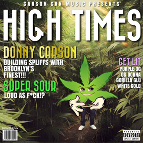 High Times (Limited Edition) Donny Carson front cover