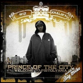 Prince Of The City: Welcome To Pistolvania Wiz Khalifa front cover