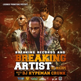 BREAKINGRECORDS & BREAKINGARTISTS DJ Hypeman Crunk front cover