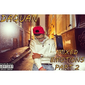 Da'Quan :: Mixed Emotions Part 2 Dj Trey Cash front cover