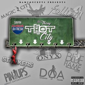 T.H.O.T. City LIL THONY front cover