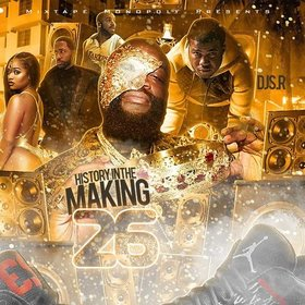 History In The Making 26 (Hosted By Bank Boy) DJ S.R. front cover