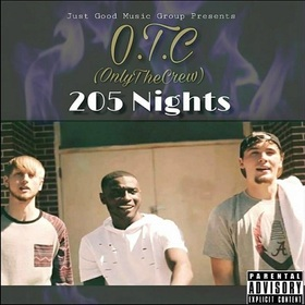 205 Nights OTC (Only The Crew) front cover