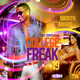 College Freak 19 DJ HB Smooth front cover
