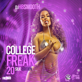 College Freak 20 DJ HB Smooth front cover