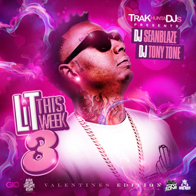 Lit This Week 3 DJ Seanblaze front cover