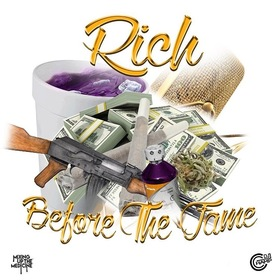 Rich Before The Fame Woo Rich front cover