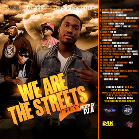 DJ A & THE FLEET DJs PRESENTS: WE ARE THE STREETS PT.1 Various Artists front cover