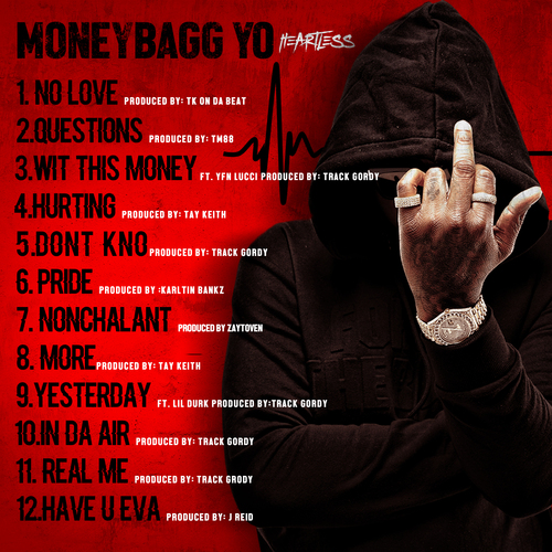Moneybagg Yo Height: MoneyBagg Yo - Heartless (Federal Edition)