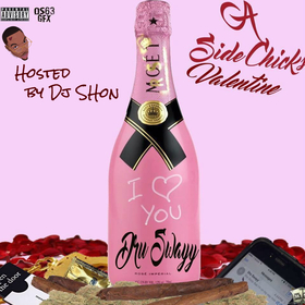 A Side Chick's Valentine Dru Swayy front cover