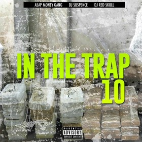 In The Trap 10 DJ ASAP front cover