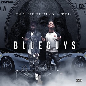 Blue Guys Cam Hendrixx front cover