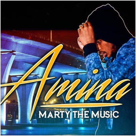 Marty The Music - The Amina Project (The EP) DJ Chase front cover