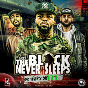 The Block Never Sleeps 171 DJ DES front cover