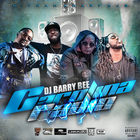 DJ BARRY BEE - CAROLINA RADIO DJ DERRICK GEETER front cover