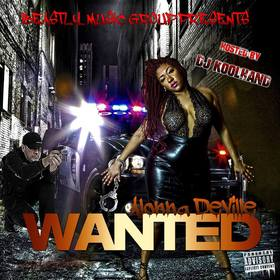 Alonna Deville - WANTED DJ Koolhand front cover