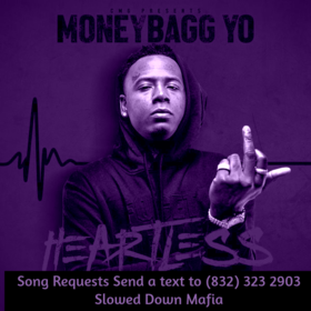 MoneyBagg Yo Heartless Screwed Slowed Down Mafia DJ DoeMan front cover