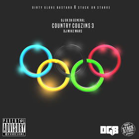 Country Couzins 3 DJ O.K. General front cover