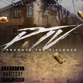 Promote The Violence Omerta Gang front cover