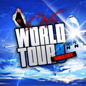 World Tour 8 DJ Wats front cover