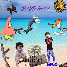 Jay VS. Black Foreign Jay front cover