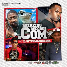 BREAKINGRECORDS .COM VOL 9 DJ Hypeman Crunk front cover