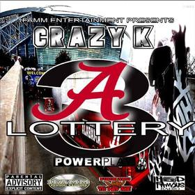 Alabama Lottery 3 Crazy K front cover