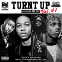 Turnt Up Vol. 41 DJ Tee Cee front cover