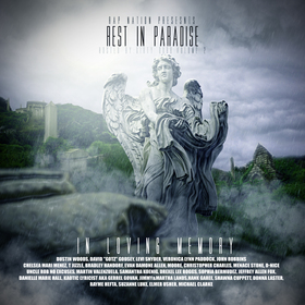 Rest In Paradise Volume 2 Hosted By Dirty Dubb RapNation front cover
