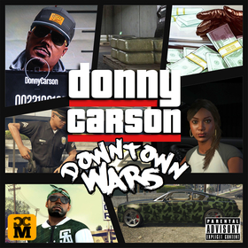 Downtown Wars Donny Carson front cover