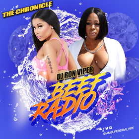 Beef Radio (Nicki vs Remy) DJ Ron Viper front cover