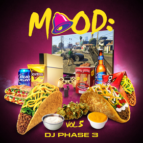 Mood: Vol. 5 (Grand Theft Audio) DJ Phase 3 front cover