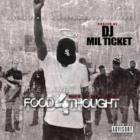 Food 4 Thought Mike Lawry Baby  front cover