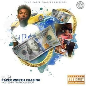 Paper Worth Chasing EP Lil 24 front cover