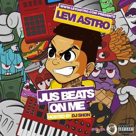 Jus Beats On Me Levi Astro front cover
