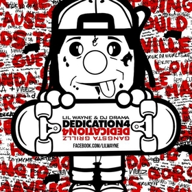 Dedication 4 Lil Wayne front cover