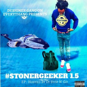 #StonerGeeker 1.5 EP TJF front cover