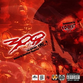 #300  hosted by dj konvict n dj wao Various Artists front cover