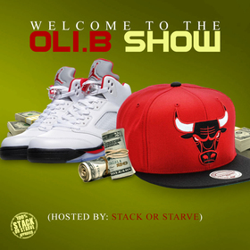 Welcome To The Oli.B Show Oli B front cover
