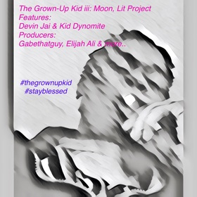 The Grown-Up Kid iii: Moon, Lit Derion Jai front cover