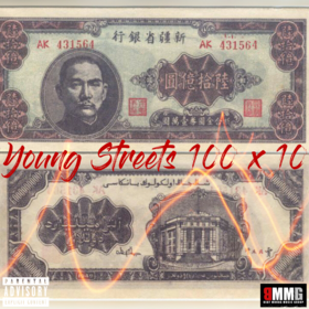 100 x 10 Young Streets front cover