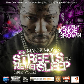 """DJ Tony H. """"The Streets Never Sleep"""" PT 2 Hosted by @KNoe_Brown DJ Tony H front cover"""