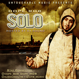 Dope Rob - Solo DJ Konnect  front cover
