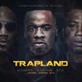 Trapland DJ Suspence front cover