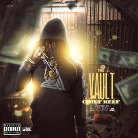 The Vault (Chief Keef) DJ Young JD front cover