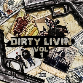 Dirty Livin Vol 1 Dj Dirty Migoo front cover