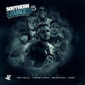 Southern Savages 5 (Gates Krew Edition) DJ Red Skull front cover