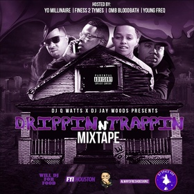 Drippin N Trappin Dj Q Watts 901 front cover